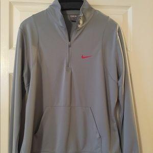 Women's Nike Half Zip Long Sleeve